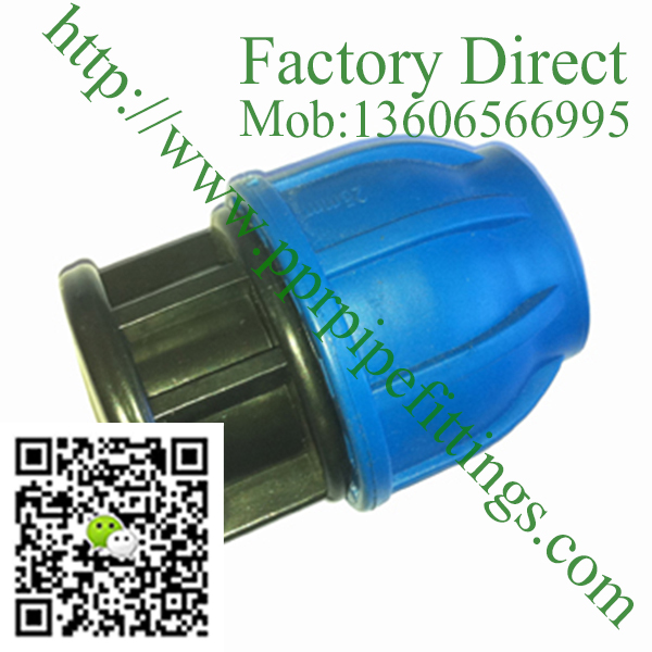pp compression fittings plug