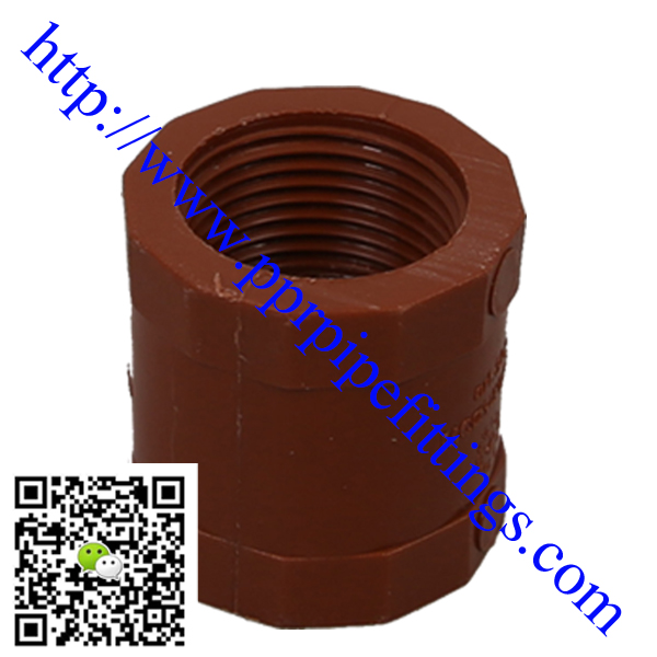 pp-h pipe fittings socket,PP threaded socket