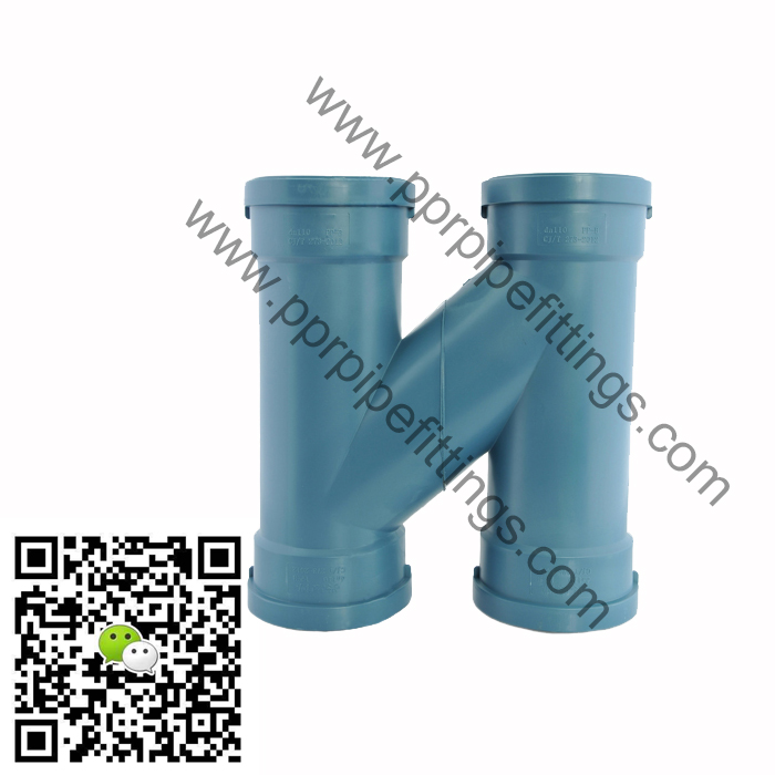 pp silent drainage pipe fittings H pipe