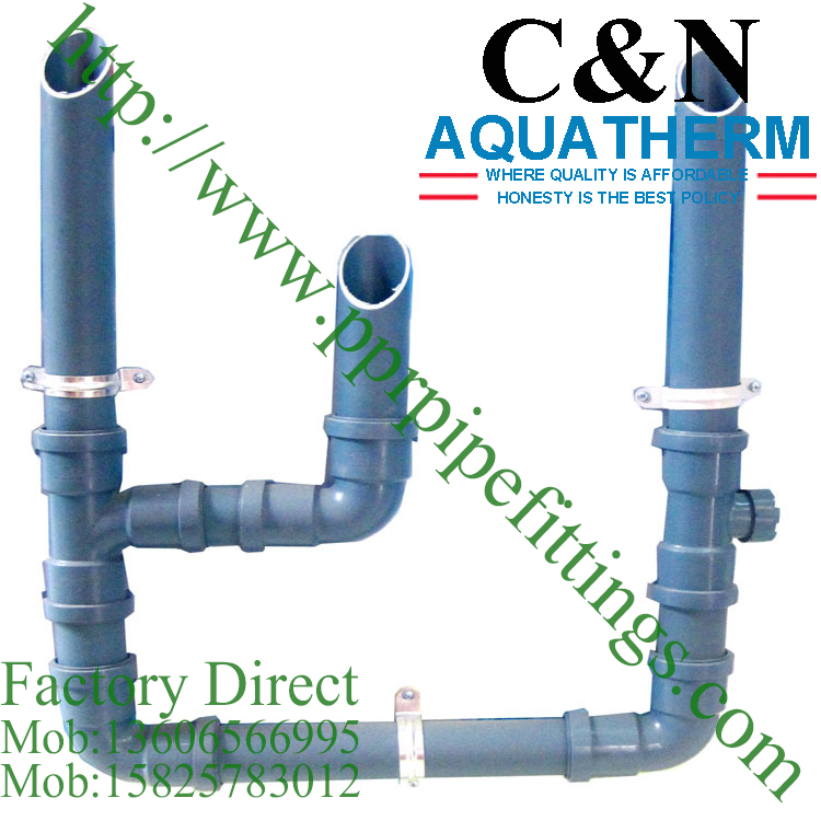 pp silent pipe fittings