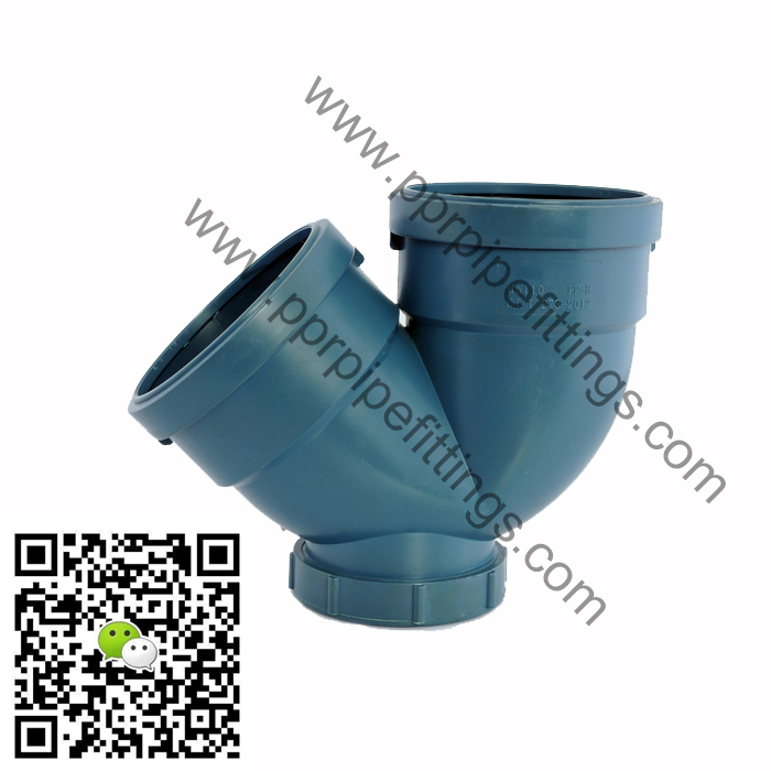 pp super silent pipe fittings trap inspection