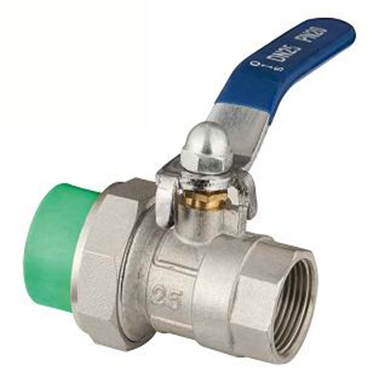 ppr single union female ball valve