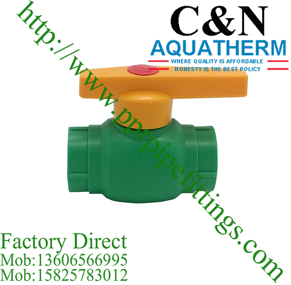 ppr steel brass ball valves