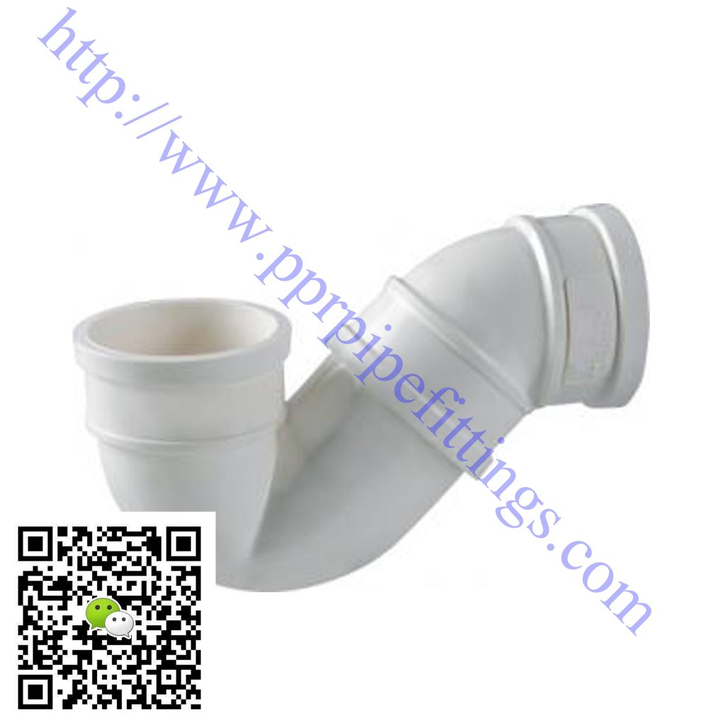 pvc-u pipe fittings P-trap