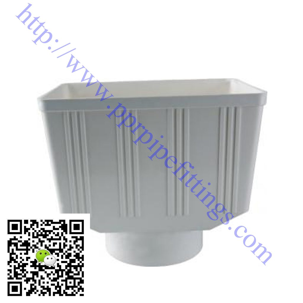 pvc-u pipe fittings rain strainer