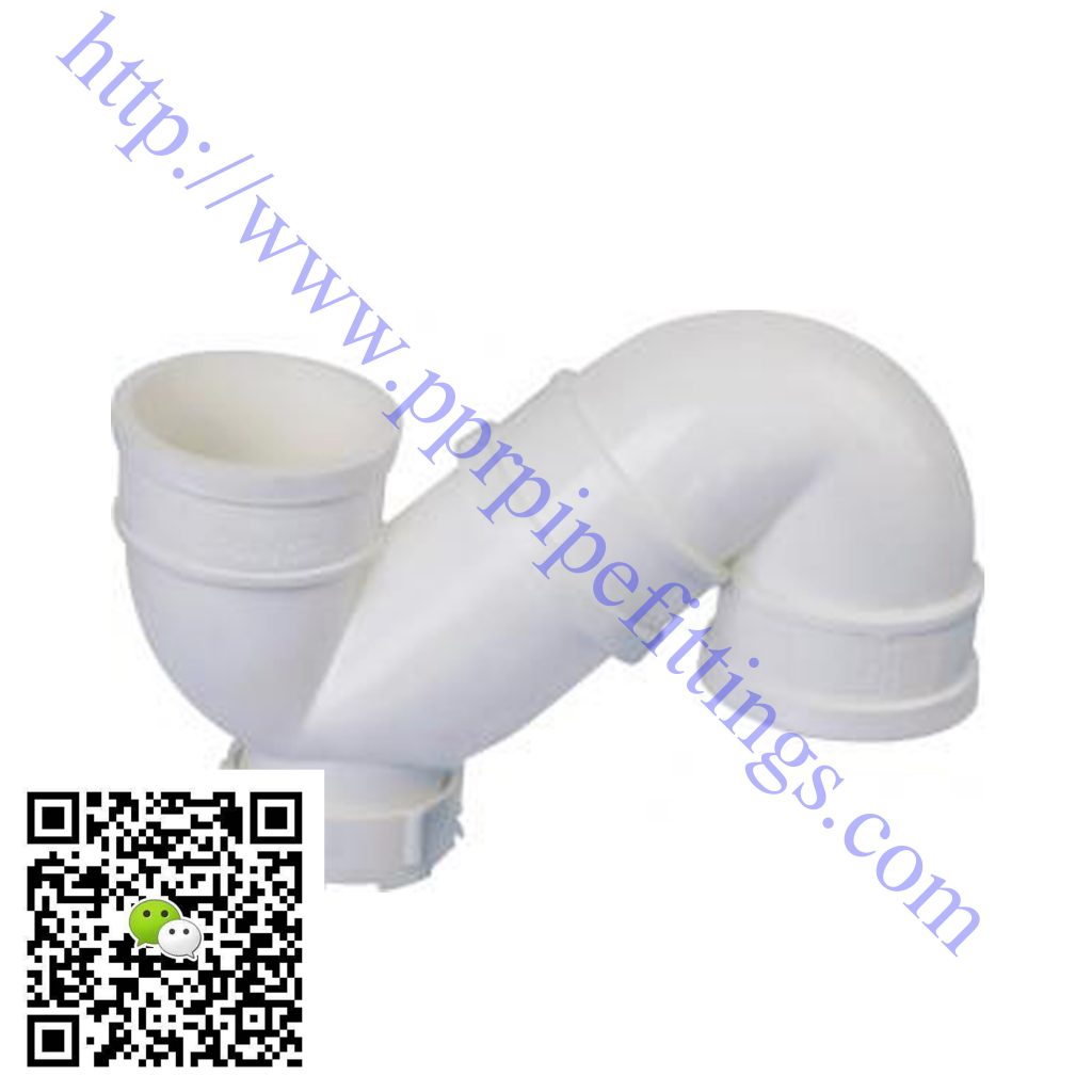 pvc-u pipe fittings s-trap with inspection