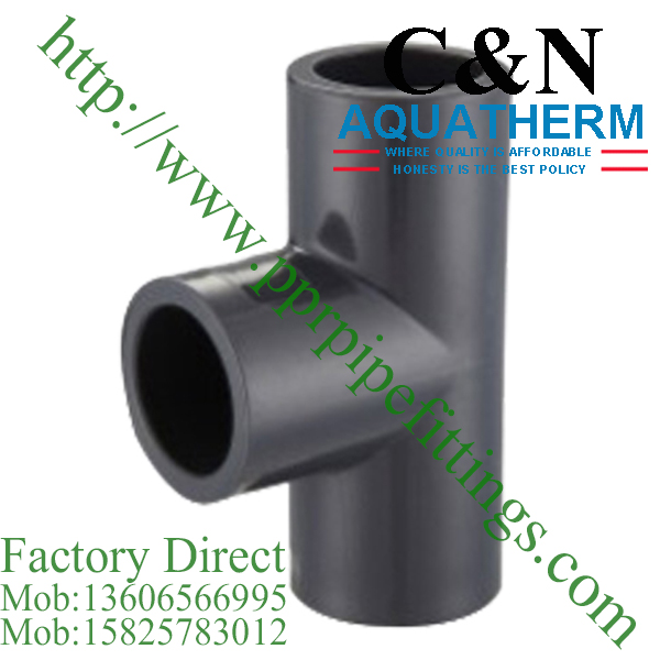 sch 80 pvc fittings equal tee