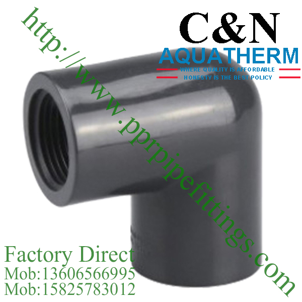 sch 80 pvc fittings female elbow