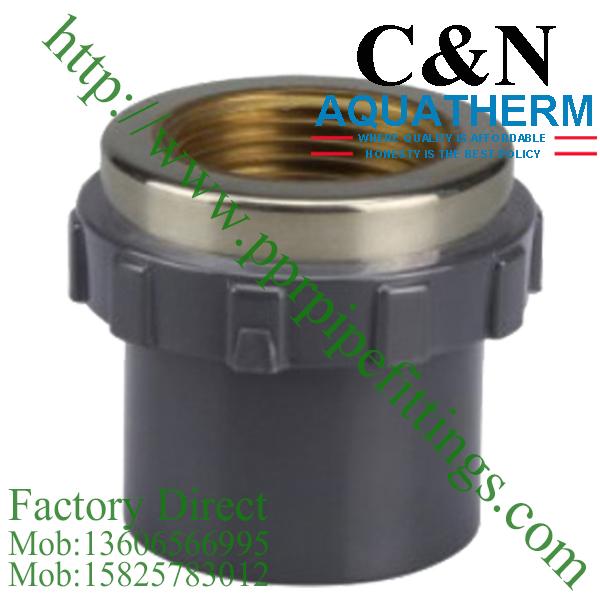 sch 80 pvc fittings female socket copper thread
