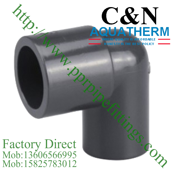 sch 80 pvc fittings reducing elbow