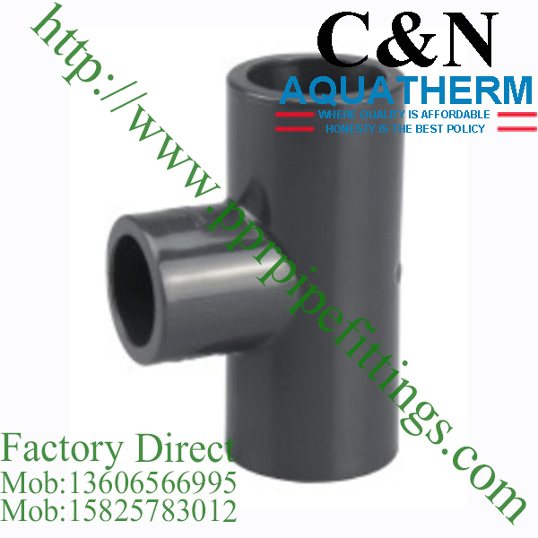 sch 80 pvc fittings reducing tee